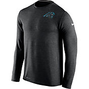 Nike Men's Carolina Panthers Sideline 2016 Dri-FIT Touch Black Long Sleeve Shirt