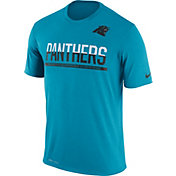 Nike Men's Carolina Panthers Practice Blue T-Shirt
