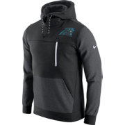 Nike Men's Carolina Panthers AV15 Fleece Black Pullover Hoodie