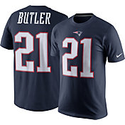 Nike Men's New England Patriots Malcolm Butler #21 Pride Navy T-Shirt