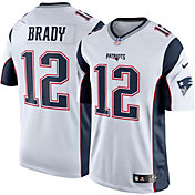 Nike Men's Away Limited Jersey New England Patriots Tom Brady #12