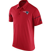 Nike Men's New England Patriots Team Issue Red Polo