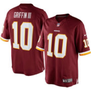 Nike Men's Home Limited Jersey Washington Redskins Robert Griffin III #10