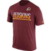 Nike Men's Washington Redskins Practice Red T-Shirt