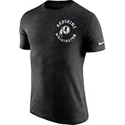 Nike Men's Washington Redskins Helmet Tri-Blend Black T-Shirt