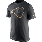 Nike Men's Los Angeles Rams Travel Reflective Anthracite T-Shirt