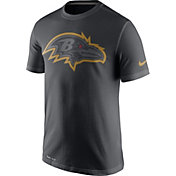Nike Men's Baltimore Ravens Travel Reflective Anthracite T-Shirt
