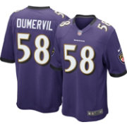 Nike Men's Home Game Jersey Baltimore Ravens Elvis Dumervil #58