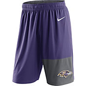 Nike Men's Baltimore Ravens Fly Purple Shorts