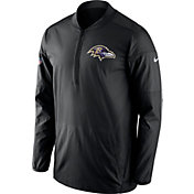 Nike Men's Baltimore Ravens Lockdown Black Full-Zip Performance Jacket