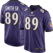 Nike Men's Home Game Jersey Baltimore Ravens Steve Smith Sr. #89
