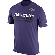 Nike Men's Baltimore Ravens Practice Purple T-Shirt