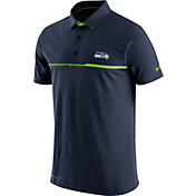 Nike Men's Seattle Seahawks Sideline 2016 Elite Navy Polo