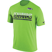 Nike Men's Seattle Seahawks Practice Green T-Shirt