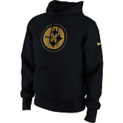 Nike Men's Pittsburgh Steelers Charged Black Hoodie
