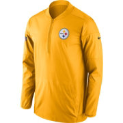 Nike Men's Pittsburgh Steelers Lockdown Gold Full-Zip Performance Jacket