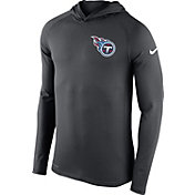 Nike Men's Tennessee Titans Dri-FIT Touch Grey Hoodie