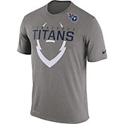 Nike Men's Tennessee Titans Legend Icon Grey T-Shirt