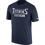 Nike Men's Tennessee Titans All Football Legend Navy T-Shirt