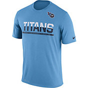 Nike Men's Tennessee Titans Practice Blue T-Shirt