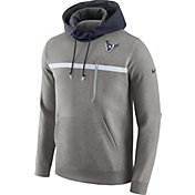 Nike Men's Houston Texans Championship Drive AV15 Grey Pullover Hoodie