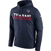 Nike Men's Houston Texans Circuit Pullover Navy Hoodie