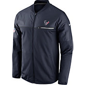 Nike Men's Houston Texans Sideline 2016 Elite Hybrid Navy Jacket