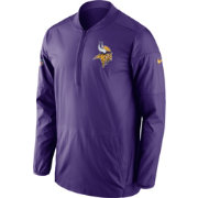 Nike Men's Minnesota Vikings Lockdown Purple Full-Zip Performance Jacket
