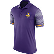 Nike Men's Minnesota Vikings Sideline 2016 Early Season Purple Polo