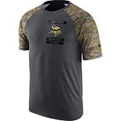 Nike Men's Minnesota Vikings Salute to Service 2016 Anthracite Performance T-Shirt