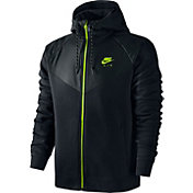 Nike Men's Fleece Windrunner Hybrid Full Zip Hoodie
