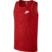 Nike Men's Knit Solstice Printed Sleeveless Shirt