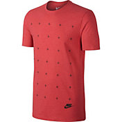 Nike Men's Matte Silicon Futura Graphic T-Shirt