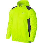 Nike Men's Printed Packable Hooded Golf Jacket