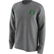 Nike Men's Oregon Ducks Grey Free Trainer 2.0 Hook Legend Long Sleeve Shirt