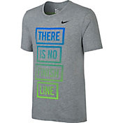 Nike Men's Dri-FIT Blend There Is No Finish Line Graphic T-Shirt