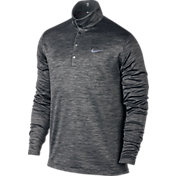 Nike Men's TW Heather Long Sleeve Golf Polo