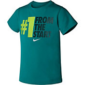 Nike Toddler Boys' #1 From The Start T-Shirt