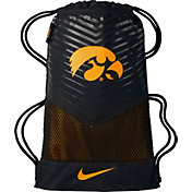 Nike Iowa Hawkeyes Black Gym Sack