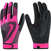 Nike Girls' Hyperdiamond Edge Batting Gloves 2017