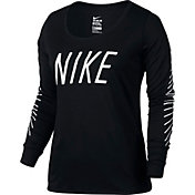 Nike Women's Dry Graphic Long Sleeve Shirt