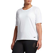 Nike Women's Plus Size Pro HyperCool T-Shirt