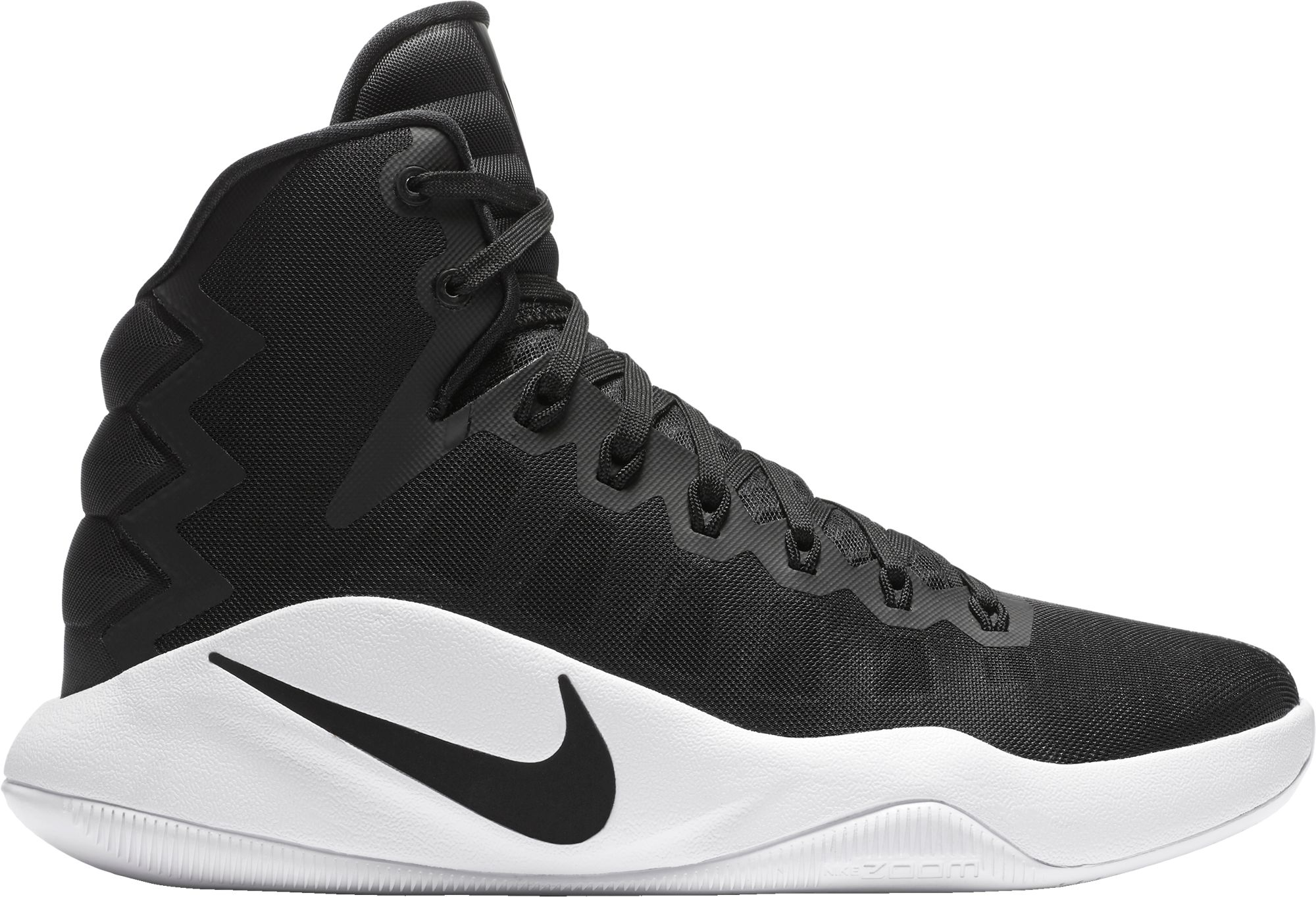 Blue Nike High Top Basketball Shoes