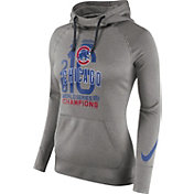 Nike Women's 2016 World Series Champions Chicago Cubs Grey Hoodie