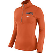 Nike Women's San Francisco Giants Dri-FIT Orange Element Half-Zip Jacket