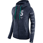 Nike Men's Seattle Mariners Vintage Navy Full-Zip Hoodie