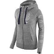 Nike Women's Boston Red Sox Vintage Grey Full-Zip Hoodie