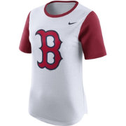 Nike Women's Boston Red Sox Modern Fan White Shirt
