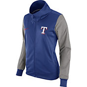 Nike Women's Texas Rangers Royal/Grey Full-Zip Track Jacket