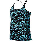 Nike Women's Dry Miler Gravity Printed Running Tank Top